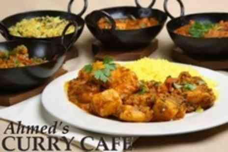 Ahmeds Curry Cafe - Indian Meal For Two With Sides - Save 54%