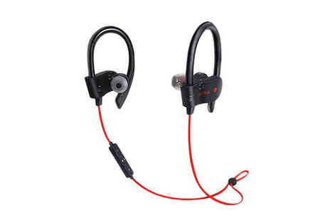 Best mall ever - Noise Cancelling Wireless Bluetooth Sports Earphones Choose 4 Colours - Save 66%