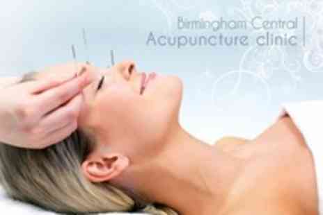Birmingham Central Acupuncture - Acupuncture Consultation and Treatment Plus Indian Head Massage - Save 75%