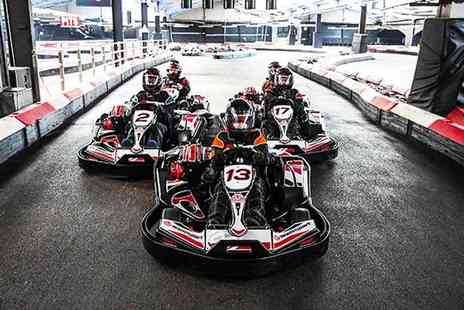 Buyagift - Indoor go karting race for two at a choice of 19 locations - Save 0%