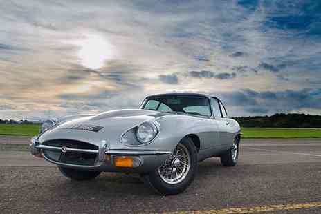 Buyagift - Four hour classic car road trip for one, drive three cars from a choice of Jaguar E Type, classic Porsche 911 and more - Save 0%