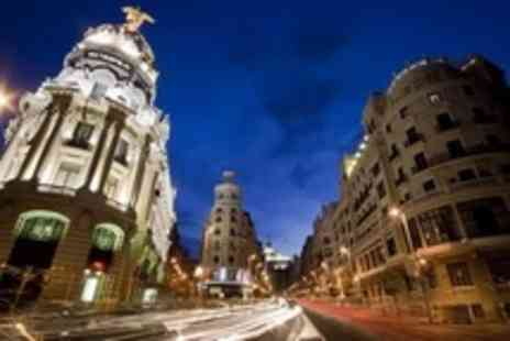 Viva Holidays - In Madrid Two Night Stay For Two With Flights and Breakfast Between 2 and 15 September 2012 - Save 36%
