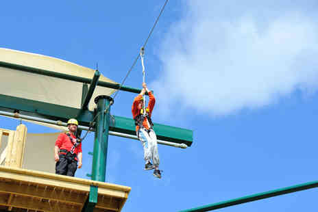 Conkers Discovery Centre - Access to the high ropes course, zip wire, powerfan descender and the climbing wall - Save 42%