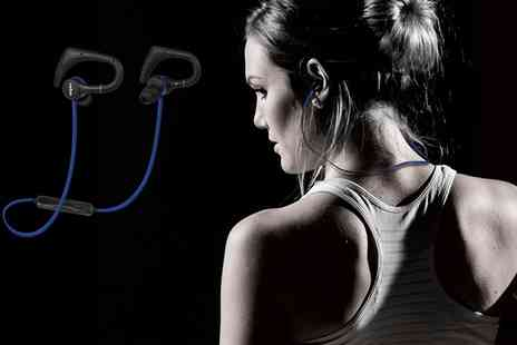 Groupon Goods Global GmbH - Wireless Bluetooth In Ear Sports Headphones - Save 42%