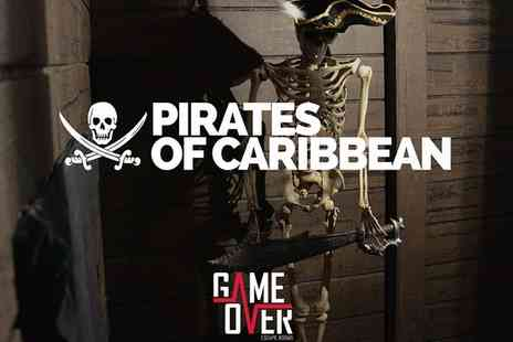 Escape Game Over - Pirate Themed Live Escape Game for Up to Six - Save 46%