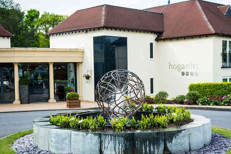 Hogarths Solihull - Four Star Stylish Country Retreat with Rosette Awarded Restaurant For Two - Save 49%