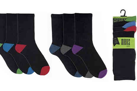 Mscomputers ltd - 12, 24 or 36 Pairs of Assorted Mens Socks Available in Size 7 To 11 - Save 63%