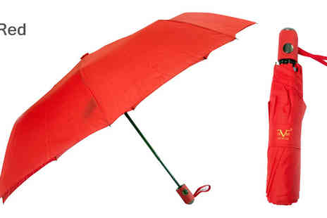 Brand Logic Europe - Versace V1969 Abbigliamento Deluxe Folding Umbrella Available in 7 Colours - Save 83%