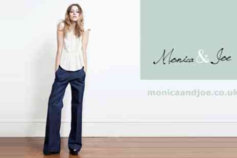 Monica & Joe Clothing - £15 for a £50 voucher to spend on any sale item - Save 770%