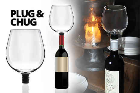 Internet Shop - Wine O Matic straight from the bottle glass - Save 63%