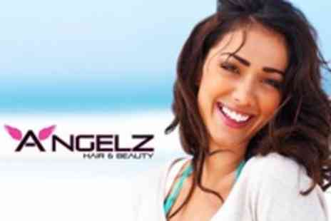 Angelz Hair and Beauty - Teeth Whitening For One - Save 62%
