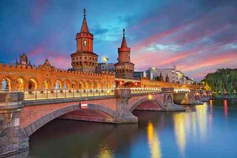 Crystal Travel - Four or six night Berlin and Prague break with flights and train - Save 36%
