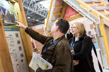The Homebuilding & Renovating Show - Two tickets and magazine to The National Homebuilding & Renovating Show - Save 58%