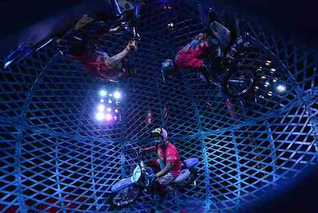 The European Events Corporation - Grandstand ticket to Circus Extreme - Save 51%