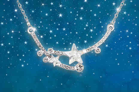 Evoked Design - Shooting star necklace choose from two colours - Save 88%