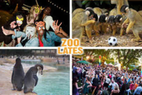 London Zoo - Ticket to Zoo Lates on the 13th July - Save 50%