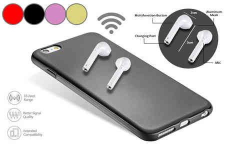 Innova Brands - Pair of wireless Bluetooth earphones - Save 86%