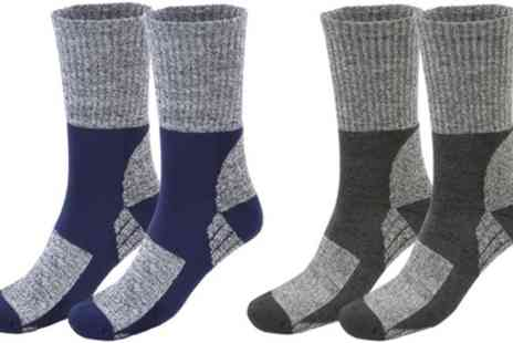 Groupon Goods Global GmbH - Two or Four Pairs of Trekking Socks - Save 85%