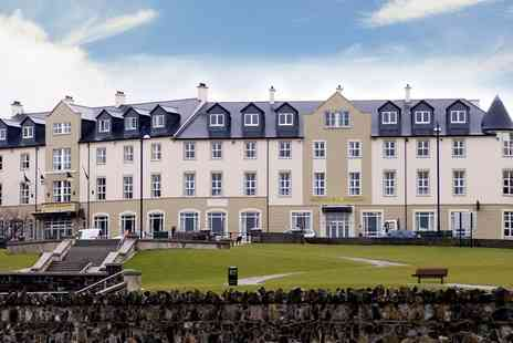 Portrush Atlantic Hotel - One or Two Night Stay for Two - Save 0%