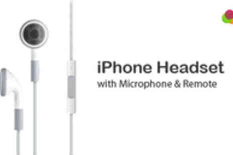 UK Game Gear - iPhone Headphones with Remote and Microphone - Save 48%