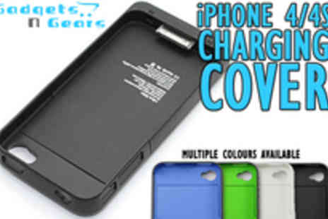 Gadgets N Gears - iPhone 4 battery boosting cover charger for - Save 60%