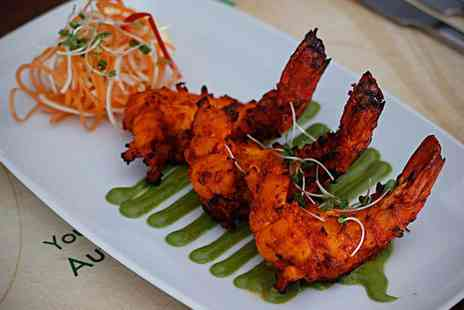 Shri Bheemas Indian Restaurant - Two Course Lunch or South and North Indian Buffet for Two - Save 0%
