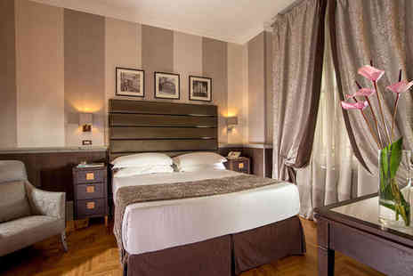 Royal Court Hotel - Four Star Central Location in the Eternal City For Two - Save 80%