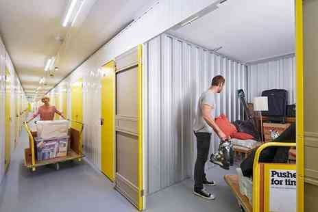 Big Yellow Self Storage Company -£50 voucher from Big Yellow Self Storage Company to spend - Save 90%