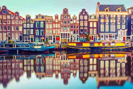 Weekender Breaks - Two or three night Amsterdam stay with flights for a solo traveller - Save 25%