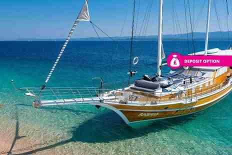 Medsail Holidays - Seven night all inclusive Greece sailing trip, or pay - Save 35%
