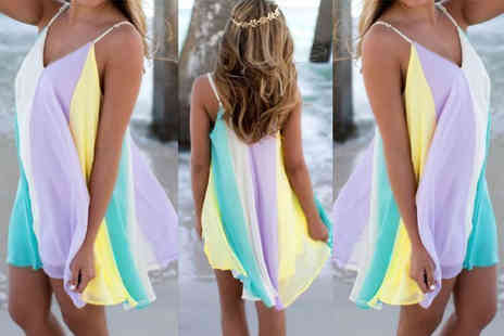 Anarchy - Rainbow beach dress - Save 73%