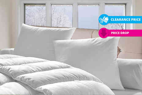 Home Furnishing Company - Single, double, king or super king size super bounce back winter duvet 15 tog - Save 71%