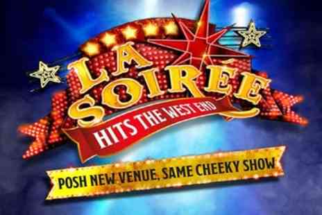 Mark Rubinstein - La Soirée, Stalls Sitting General Admission Tickets on 11 January To 1 February 2018,  - Save 50%