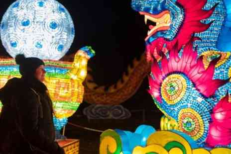 Edinburgh Zoo - One child or adult ticket to Giant Lanterns of China On 19 January To 4 February 2018 - Save 0%