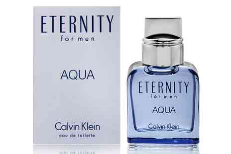 Groupon Goods Global GmbH - Calvin Klein Eternity Aqua Edt Spray for Men 100ml - Save 0%