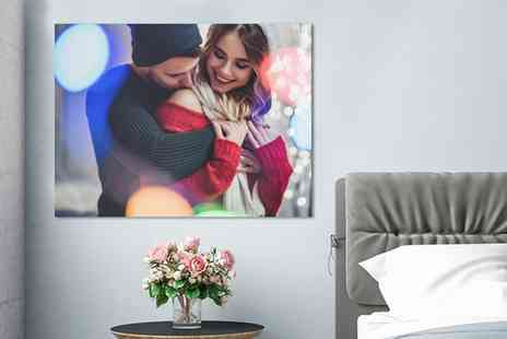 Photo Gifts - Personalised Photoboard in Choice of Size - Save 72%