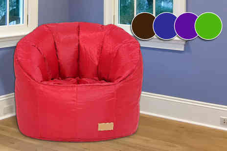 ViVo Technologies - Giant pumpkin style beanbag chair choose from five colours - Save 76%