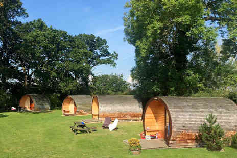Big Bear Lodge - One or Two night glamping stay for two with a bottle of Prosecco to share and late checkout - Save 64%