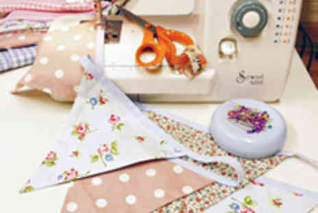 Sew In Brighton - Learn to Sew Bunting Workshop with Materials - Save 60%