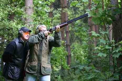 Manchester Clay Shooting Club - Clay Pigeon Shooting with 25 Shots and Membership for Up to Five - Save 76%