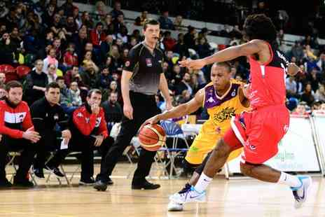 London Lions Basketball - One premium adult or family ticket to a choice of London Lions basketball match - Save 53%