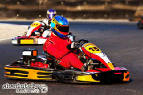 Absolutely Karting - 1 Hour of karting with 240cc twin engine carts around a 500m track - Save 64%
