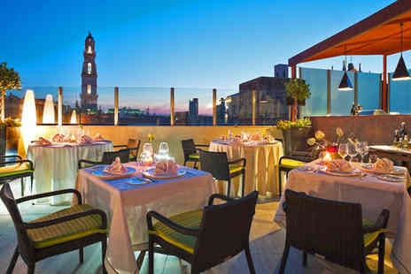 Risorgimento Resort Hotel - Five Star Elegant Hotel with Rooftop Restaurant For Two - Save 75%