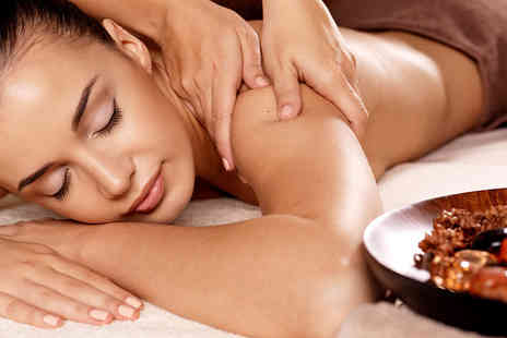 The Beauty Studio - Dermalogica skin zone facial and back massage - Save 53%
