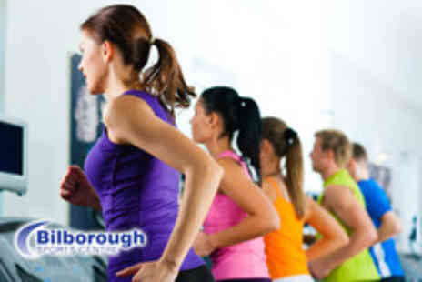 Bilborough Sports Centre - 10 Day passes for use in the gym or fitness classes plus fitness assessment - Save 86%