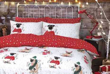 Groupon Goods Global GmbH - Clearance Festive Duvet Sets - Save 78%