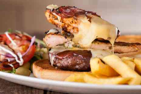 Grill & Shake - American Lunch Meal for Two or Four - Save 0%