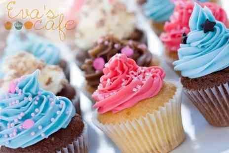 Evas Cafe - Cupcake Decorating Class With Cakes To Take Home - Save 56%