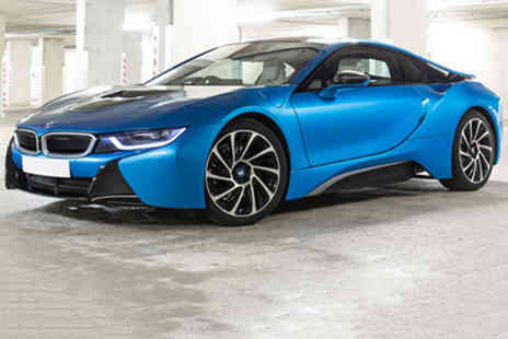 Red Letter Days - One hour BMW i8 Thrill experience at a choice of locations - Save 0%