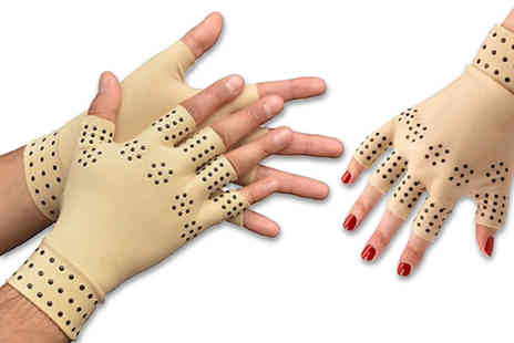 DM Logistic Solutions - Pair of therapeutic anti arthritic gloves - Save 80%